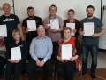 Excellent group from Linden Foods Dungannon who recently completed their First Aid at Work course